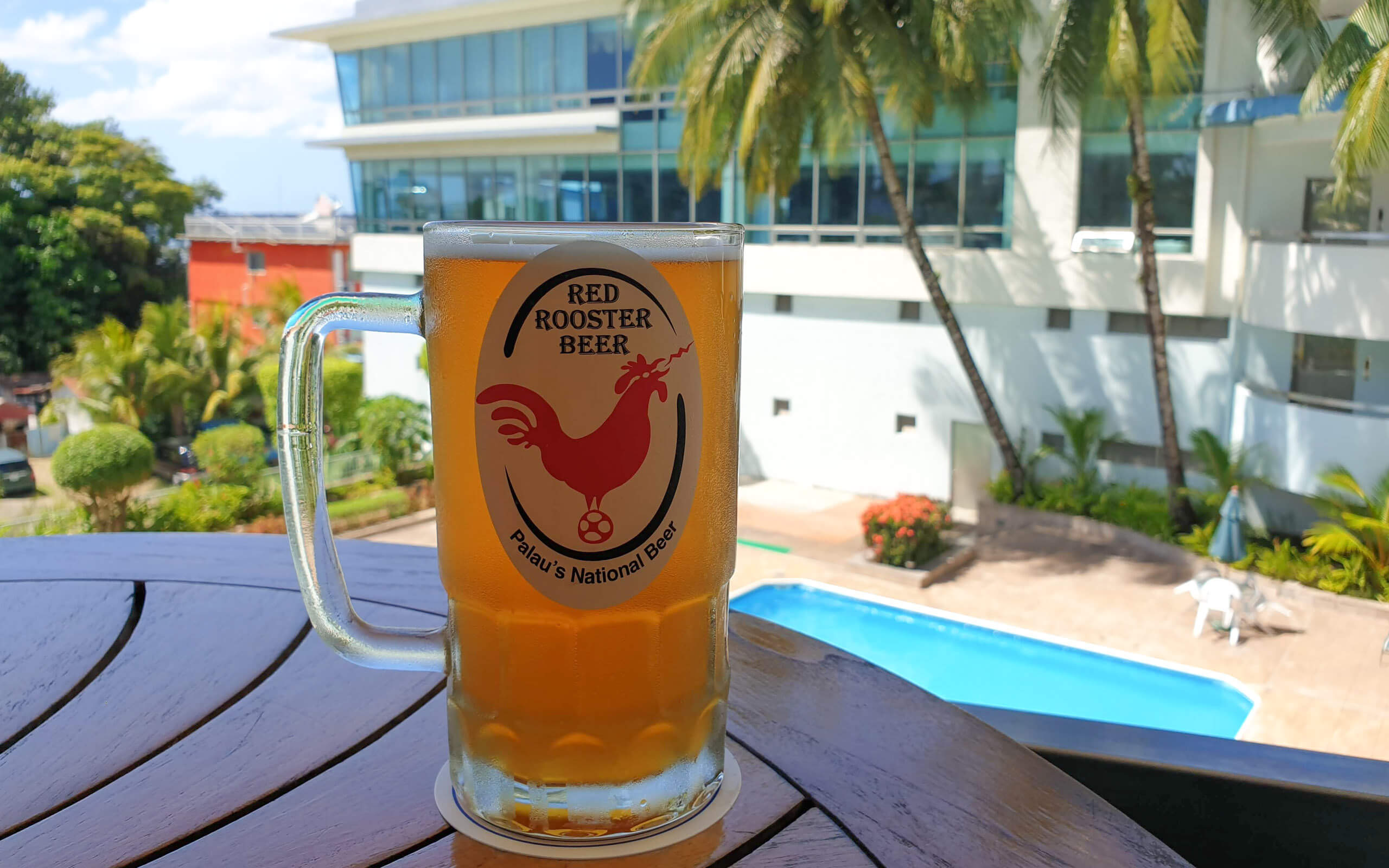 Red Rooster beer, Palau